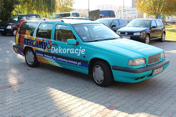 Oklejanie Samochodów łomża Reklamy I Dekoracje