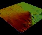 Historia Łomży – mapa topograficzna